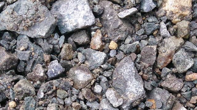 砕石の写真